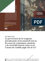 Bazán Díaz La Pervivencia de La Venganza Privada j