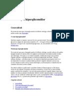 Fitoterapia hiperglicemiilor