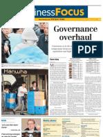 The Korea Times_Business Focus_Cover Story_Governance Overhaul