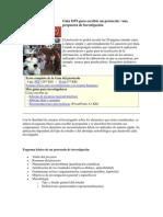 Guía OPS para escribir un protocolo