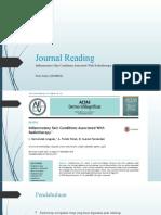 Journal Reading Dr Erni