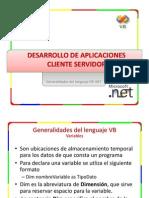 scz2 - Generalidades del lenguaje VB .NET