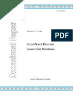 IBS Occasional Paper 2007-03 - Lingga