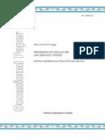 IBS Occasional Paper 2008-02 - Lingga