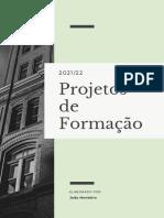 Relatório Formal Financeiro a Verde Menta e Branco Moderno Para Empresa