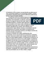 EL ORGANICISMO POSITIVISTA