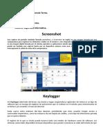 Key Logger, screenshot and backdoor