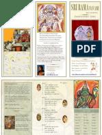Program Handout | 2011 Sri Rama Navami Bhajan Recital | dhanyasy.org
