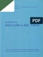 A. Lausetti, F. Filippi - Elementi Di Meccanica Del Volo 1. 1 (1984)