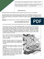 Español- primer grado- 31 de agosto al 4 de septiembre