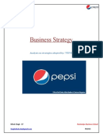 Business Strategy & Analysis - Pepsi