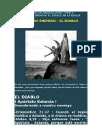 CURSO de ANGELOLOGIA -TEMA 4 Nuestro Enemigo El Diablo