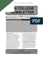 Jain College Newsletter