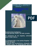 CURSO DE ANGELOLOGIA TEMA 6 CONSAGRACIÓN A LOS ANGELES POSIBILIDAD DE UNION CON LO ESPIRITUAL
