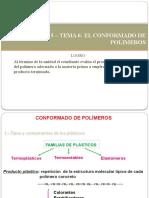 UNIDAD 5-TEMA 6  CONFORMADO DE POLIMEROS