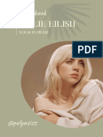 Воркбук По Песне Билли Айлиш Your Power