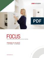 HIKVISION Focus - Settembre Dicembre 2021