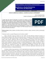 Anistia e (in)Justiça No Brasil- o Dever de Justiça e a Impunidade Seligmann