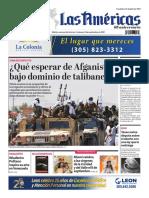 Portada Diario Las Americas