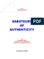 Saboteurs Of Authenticity