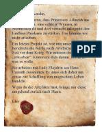 Abenteuer Ailineah Brief Elar