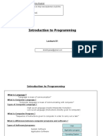 Introduction to Java Programming_Lecture001