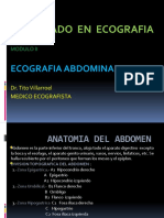 2. Anatomia - Fisiologia - Semiologia Ecografica Abdominal