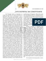 Artigo 1 - Município e voto distrital na Constituinte (2)
