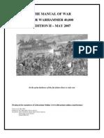The Manual of War Ed 2  2007