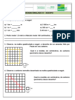 ATIVIDADE - 5º ANO - SIMULADO III - MATEMÁTICA