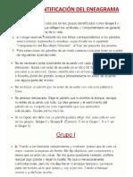 TEST DE IDENTIFICACIÓN DEL ENEAGRAMA