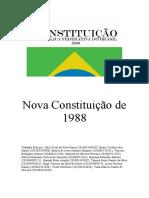 Nova Constituição de 1988 - Material Impresso
