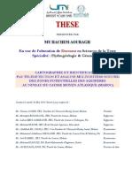 Thèse 2015 H. Aouragh Geomatique Hydrogeologie Moyen Atlas