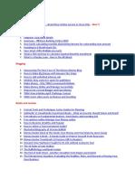Articles on Finance, Saving, Investing, Money