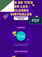 uso de tics en las clases virtuales