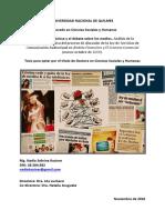 La Prensa Economica y El Debate Sobre Lo