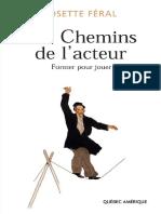 Les Chemins de lacteur by Josette Féral (z-lib.org)