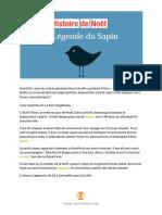 La Legende du Sapin