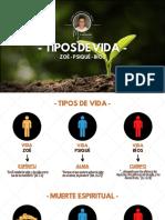 03. TIPOS DE VIDA EN EL SER HUMANO - DISCIPULADO - Joaco Pensa