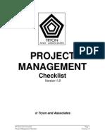 Task List - Project Management