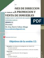 Sesion 12 i Funciones de Direccion Hca