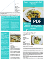 Falmouth Fish fight recipe leaflet 2011