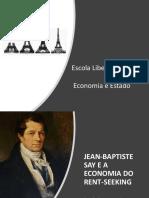 20 21 Say Bastiat e a escola liberal francesa