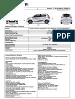 Ficha Técnica Hyundai Grand i10 Hatchback