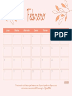 Planner Febrero 2021