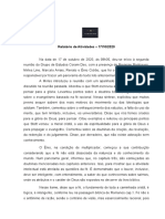 Relatório da Reunião do Grupo de Estudos Coram Deo 17-10-20