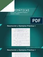 Resolucion y Ejemplos Practica 1