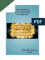 Les Secrets de La Sourate Al Ikhlass