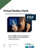Virtual Reality Check - Phase II version 2.0