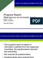 ACERWC 3rd CSO Forum Session Report